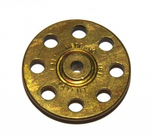 24obs Bush Wheel 8 Hole Brass 1911 Boss Original