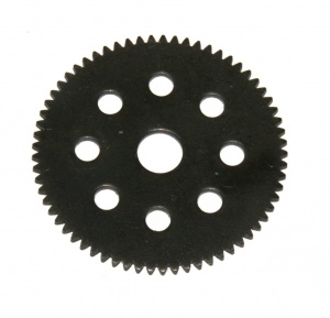 251c Gear Disk 65 Teeth Black