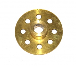 253 Large Axle Bush Wheel Brass