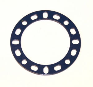 274a Narrow Circular Strip 2 3/8'' Diameter Blue