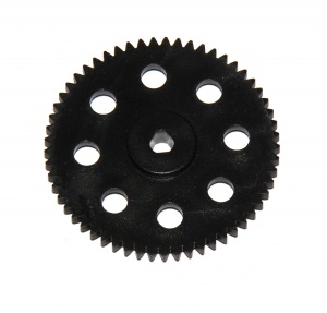 27ap3p Spur Gear 57 Teeth Black Plastic Triflat Original