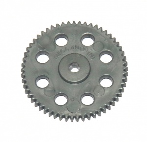 27ap3p Spur Gear 57 Teeth Grey Plastic Triflat Original