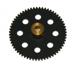 27d Spur Gear 60 Teeth Black