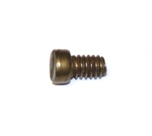 37b Slotted Cheesehead Bolt ¼'' (6mm) Brass Original