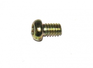 37b Allen Bolt ¼'' (6mm) Gold Passivate Original