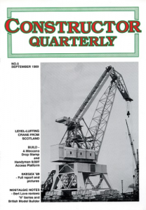 Constructor Quarterly September 1989