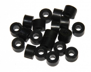 38a Large Washer Black Plastic Spacer Original x20