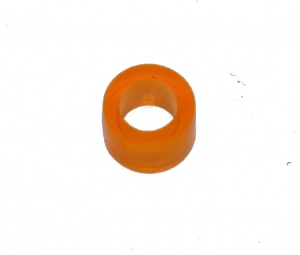 38b Small Washer Transparent Orange Plastic Spacer Original
