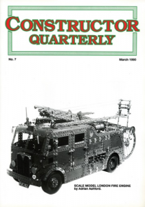Constructor Quarterly March 1990