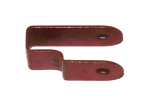 44 Bent Strip Stepped 1930s Red Original