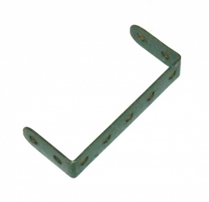 46 Double Angle Strip 2x5x2 Dark Green Original