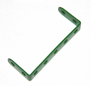 46 Double Angle Strip 2x5x2 Light Green