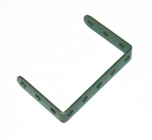 47 Double Angle Strip 3x5x3 Dark Green Original