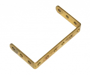 47a Double Angle Strip 3x6x3 Gold Original