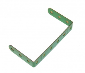 47a Double Angle Strip 3x6x3 Light Green Original