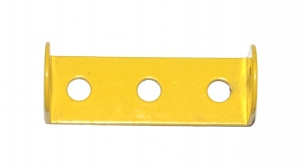 48 Double Angle Strip 1x3x1 French Yellow Original