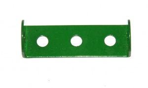 48 Double Angle Strip 1x3x1 Light Green