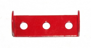48 Double Angle Strip 1x3x1 Light Red Original