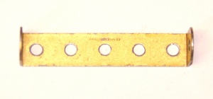 48a Double Angle Strip 1x5x1 Gold Original