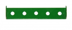 48a Double Angle Strip 1x5x1 Light Green