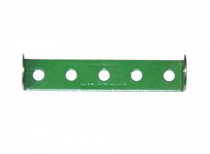 48a Double Angle Strip 1x5x1 Light Green Original