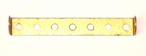 48b Double Angle Strip 1x7x1 Gold Original