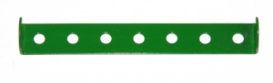 48b Double Angle Strip 1x7x1 Light Green