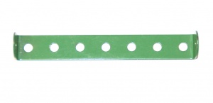 48b Double Angle Strip 1x7x1 Light Green Original