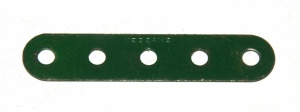 5 Standard Strip 5 Hole Dark Green Original