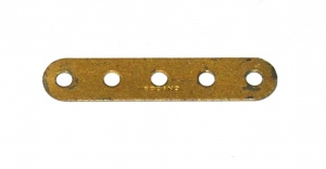 5 Standard Strip 5 Hole Gold Repainted