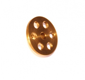 518 Bush Wheel 1'' Brass