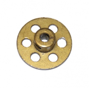 518 Bush Wheel 1'' Brass Original