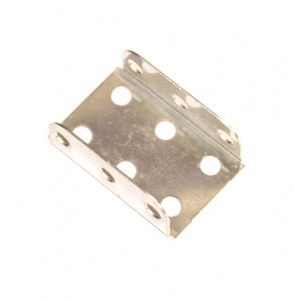 51a Flanged Plate 3x2 Hole Zinc Original