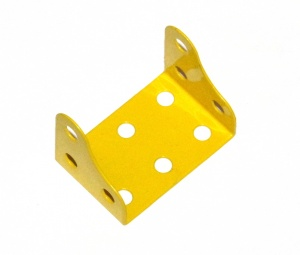 51d Corner Flanged Plate 3x2 Hole Yellow Original
