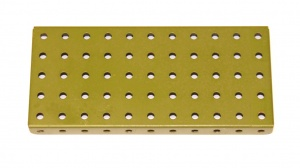 52 Flanged Plate 11x5 Army Green Original