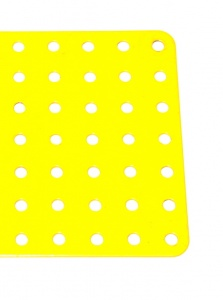 52c Flat Plate 7x19 Hole French Yellow Used