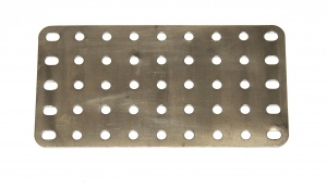 53a Flat Plate 9x5 Hole Nickel Original