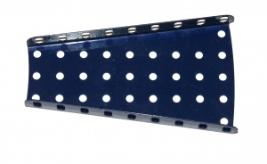 54 Flanged Sector Plate Dark Blue Original