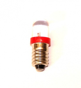 540r LED Bulb Red E10 12 Volt