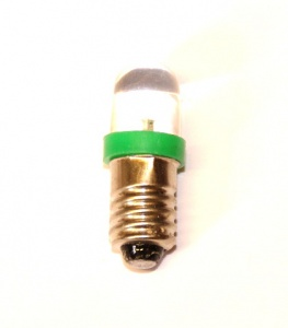 540v LED Bulb Green E10 12 Volt