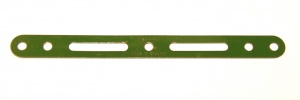 55 Slotted Strip 5½'' Mid Green Repainted