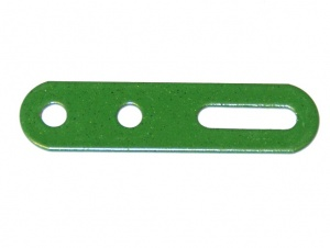 55a Slotted Strip 2'' Green