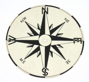 560a Dial Card Compass Original