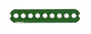 56b Connector Strip 2½'' Green