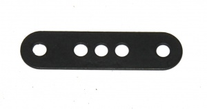 6 Standard Strip 4 Hole 1-3-1 Black Original