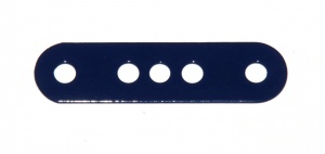 6 Standard Strip 4 Hole 1-3-1 Dark Blue Repainted