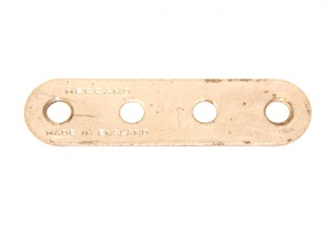 6n Standard Strip 4 Hole Silver Original