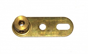 62a Single Arm Crank Threaded Gold Passivate Original
