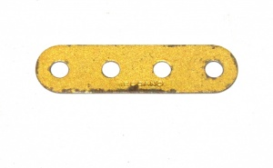 6n Standard Strip 4 Hole Gold Original