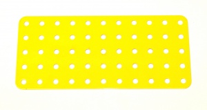 70 Flat Plate 5x11 Hole French Yellow Original